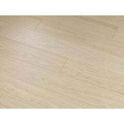 Milk Oak Premium DELUXE - dřevěná dýhovaná plovoucí podlaha