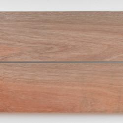 Dřevěná fasáda DARK RED MERANTI, hoblované prkno 18x140 mm