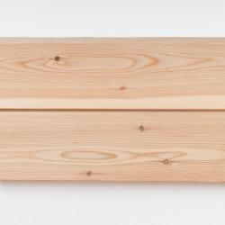 Dřevěná fasáda EVROPSKÝ MODŘÍN, raute profil 18x110 mm