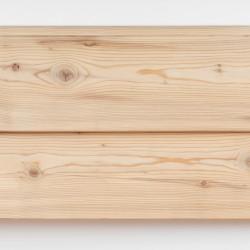 Dřevěná fasáda SIBIŘSKÝ MODŘÍN, cono profil 26x144 mm