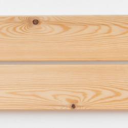 Dřevěná fasáda SIBIŘSKÝ MODŘÍN, hoblované prkno 20x95 mm