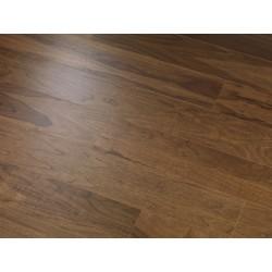 Smoked Walnut DELUXE - dřevěná dýhovaná plovoucí podlaha