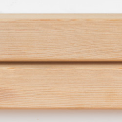 Dřevěná fasáda SIBIŘSKÝ MODŘÍN, raute profil 28x68 mm