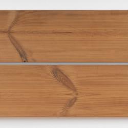 Dřevěná fasáda THERMO BOROVICE, hoblované prkno 19x140 mm