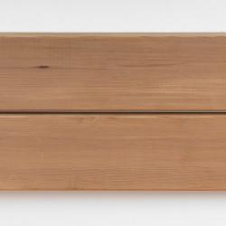 Dřevěná fasáda WESTERN RED CEDR, raute profil 20x90 mm