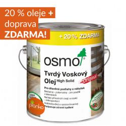 OSMO Tvrdý voskový olej ORIGINAL akce 20% ZDARMA!