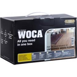 WOCA Box s pečujícím balzámem na lakované a vinylové podlahy
