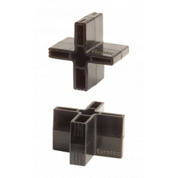 Distanční klínky - kříž, 25ks