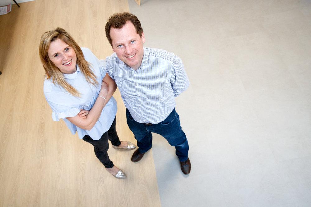 Marie a Pieter jsou tvůrci vinylové podlahy floorify