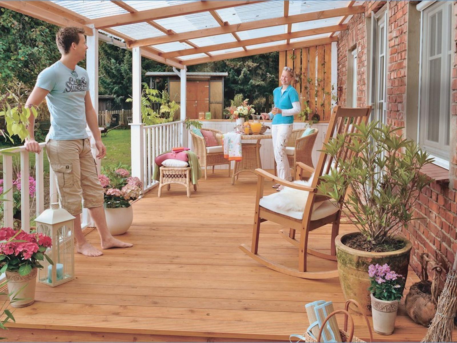 Návod na údržbu dřevěné terasy
